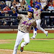 Atlanta Braves V New York Mets 3 Art Print