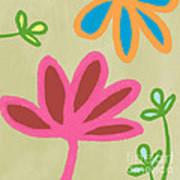 Bali Garden Art Print by Linda Woods