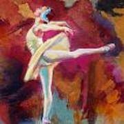 Ballet Dancer Art Print by Corporate Art Task Force
