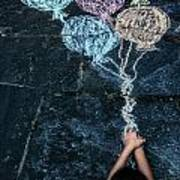 Balloons Art Print by Joana Kruse
