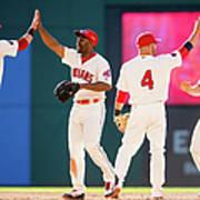 Baltimore Orioles V Cleveland Indians Art Print