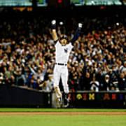 Baltimore Orioles V New York Yankees 3 Art Print
