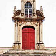 Baroque Portal Art Print