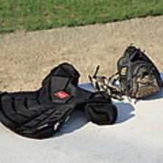 Baseball Glove And Chest Protector Art Print