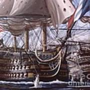 Battle Of Trafalgar Art Print