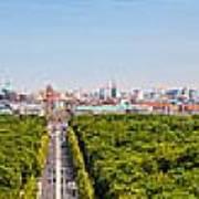 Berlin Panorama Art Print