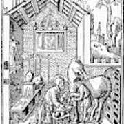 Blacksmith, C1250 Art Print