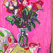Blakes' Roses Art Print