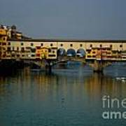 Bridge In Florence Art Print