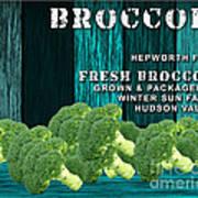 Broccoli Farm Art Print