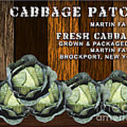 Cabbage Farm Art Print