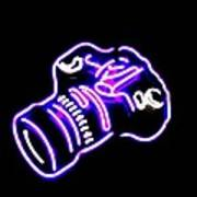 Camera Edited Art Print