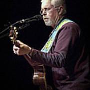 Canadian Folk Rocker Bruce Cockburn Art Print