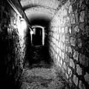 Catacomb Tunnels In Paris France Art Print