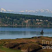 Chambers Bay Golf Course - University Place - Washington Art Print