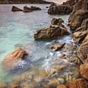 Chanteiro Beach Galicia Spain Art Print