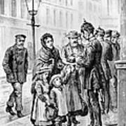 Cholera: Hamburg, 1892 Art Print