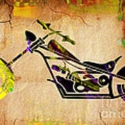 Chopper Art Art Print