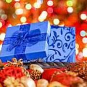 Christmas Box Art Print