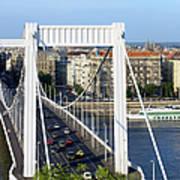City Of Budapest In Hungary Art Print