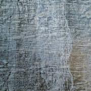 Close-up Of A Metal Wall Surface Art Print