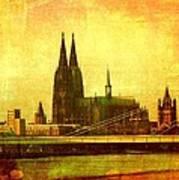 Cologne Art Print