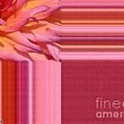 Dahlia Named Oreti Lass Art Print