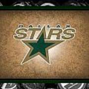 Dallas Stars Art Print