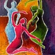 3 Dancers Art Print