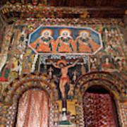 Debre Berhan Selassie Church In Gonder Art Print