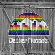 Denver Nuggets Art Print by Joe Hamilton