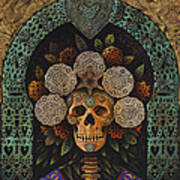 Dia De Muertos Madonna Art Print