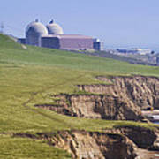 Diablo Canyon Nuclear Power Station Art Print