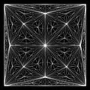 Diamond Crystal Art Print
