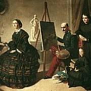 Dominguez Becquervaleriano 1834-1870 Art Print by Everett