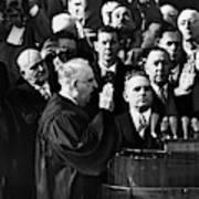 Eisenhower Inauguration Art Print