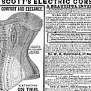 Electric Corset, 1882 Art Print