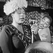 Ella Fitzgerald (1917-1996) Art Print by Granger