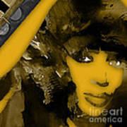 Empires Naomi Campbell Camilla Art Print