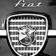 Fiat Emblem Art Print