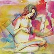 Figure Work Art Print
