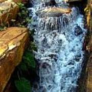 Finlay Park Waterfall 2 Art Print