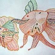 Fishstiqueart 2009 Art Print by Elmer Baez