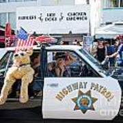 Ford Diplomat Police Car Art Print