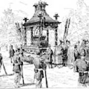 Garfield Funeral, 1881 Art Print