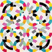 Geometric  Art Print by Mark Ashkenazi