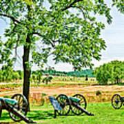 Gettysburg Battleground Art Print