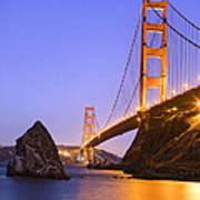 Golden Gate Bridge Art Print by Emmanuel Panagiotakis