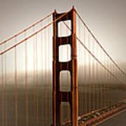 Lovely Golden Gate Bridge Art Print