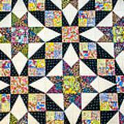 Hand Made Quilt Art Print